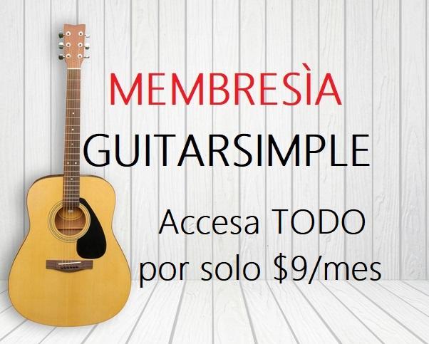 Membresia Guitarsimple