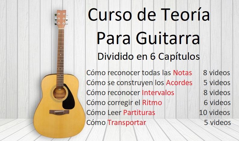 Curso de Teoría Para Guitarra - 42 Videos
