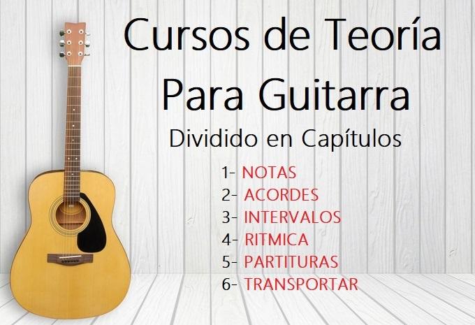 Cursos de Teoria Para Guitarra